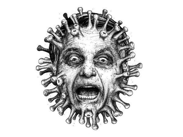 Exílio, vírus, verme